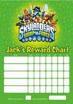Personalised Skylanders Swap Force Reward Chart (adding photo option available)